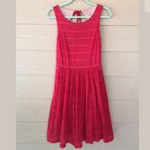 Anthropologie Postmark Sunstream Eyelet Dress